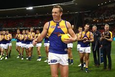 """Retiring West Coast ruck-forward Drew Petrie is keen to remain at the Eagles in an off-field role next year.  Petrie bowed out of his on-field career in disappointing fashion at the weekend after playing 332 games and booting 444 goals.  Speaking to The West Australian following the Eagles' semi-final loss to the Giants, Petrie said he felt """"reinvigorated"""" following his move to Western Australia.  He also indicated that his family intended to stay in Perth for the near future."""