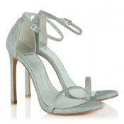 0de5cfc898da Shop Stuart Weitzman's iconic Nudist Sandal in Silver at Daniel Footwear -  a celebrity favourite and