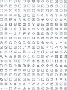 FREE icon set [Batch Preview]