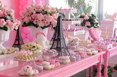 Barbie en París - Dale Detalles Barbie Theme Party, Barbie Birthday Party, Birthday Party Desserts, Birthday Cake, Poodle, Debut Party, Parisian Party, Chanel Party, Ideas Para Fiestas