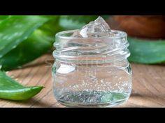 How to make aloe vera gel and store it for years. Aloe Vera Gel, Aleo Vera, Healthy Habbits, Vegan Banana Bread, Burger Buns, Hair Gel, Hygiene, Tea Tree Oil, Herbal Remedies
