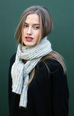 KBG 8 halstørklæde - Einrúm design - Einrúm garn