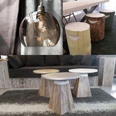 #drivvedgiveaway  Følg @drivvedno, kommenter om du ønsker lampe, sidebord, eller stubbe og del bildet med #drivvedgiveaway Decor, Furniture, Table, Home Decor, Coffee Table