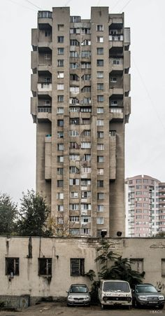 socialistmodernism: Housing building,Albisoara, Chisinau, Moldova,built in 70-s