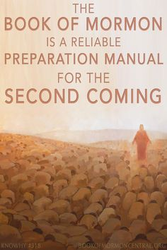Readers of the Book of Mormon can trust that the book is a reliable preparation manual because the Book of Mormon prophets truly saw our day. Learn about the specific signs and events that will take place before the Second Coming.  https://knowhy.bookofmormoncentral.org/content/what-did-the-early-saints-learn-about-the-second-coming-from-the-book-of-mormon  #LDS #Mormon #Faith #SecondComing #JosephSmith #Bible #Isaiah #BookofMormon