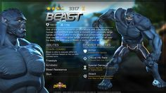 Beast in Marvel Contest of Champions