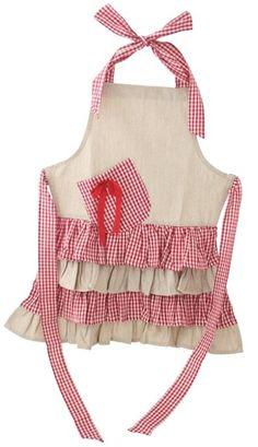 Gorgeous little girls apron from Almirose