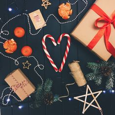 Flat-lay: Merry Christmas