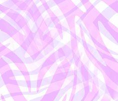 Pink Abstract Zebra fabric by angelandspot on Spoonflower - custom fabric