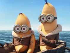 Bananas.   Minions Movie   In Theaters July 10th