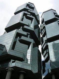 Lippo Center, Hong Kong, Paul Rudolph, 1987
