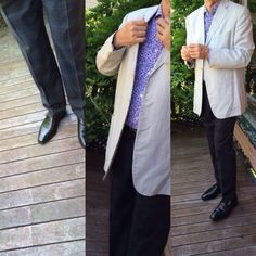 Pal Zileri Abito Privato jacket, New and Lingwood shirt, Hugo Boss trousers and John Lobb Shoes - Newland on the 8000 last