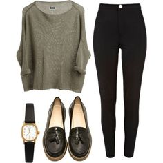 Loafers outfit womens, casual sunday outfit, sunday brunch outfit, casual o Mode Outfits, Casual Outfits, Fashion Outfits, Womens Fashion, Hijab Fashion, Fall Winter Outfits, Autumn Winter Fashion, Spring Outfits, Mode Style