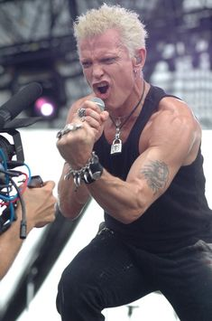 Punkfrisur Billy Idol