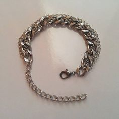 This item is unavailable Hand Chain, Mixed Metals, 3 Things, Anklets, Jewelry Design, Hands, Bracelets, Silver, Bangles