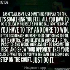 """Basketball: My life. That sums it up. Basketball: My life. That sums it up.,Basketball Quotes Basketball: My life. That sums it up. Related posts:Basketball with Fun Text — SportsArtZoo - Basketball quotesKobe Bryant """"GREATNESS"""". Love And Basketball Quotes, Basketball Motivation, Basketball Is Life, Basketball Workouts, Basketball Skills, Sports Basketball, Basketball Stuff, Basketball Shoes, Basketball Birthday"""