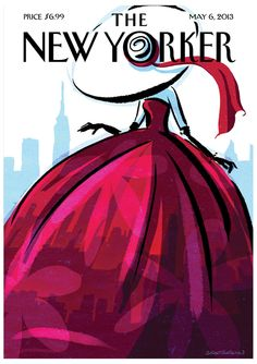 "ideeli | CONDE NAST COLLECTIONS Framed ""The New Yorker"" Cover - 5/6/2013"