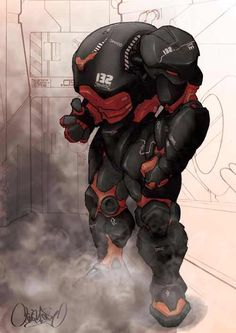 Insprational pictures of robot, spaceship and some not so human anatomy. Cyberpunk, Robot Concept Art, Armor Concept, Character Concept, Character Art, Character Design, Armadura Sci Fi, Et Wallpaper, Space Opera