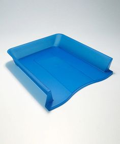 Loving this Blue Plastic Stackable Letter Tray on #zulily! #zulilyfinds