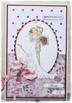 Scrap from your heart: Utfordring #10 - Bryllup