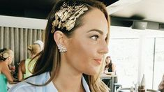 Weird or wonderful? Gold leaf hair is coming to your holiday party