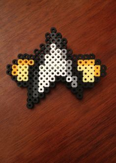Star Trek Inspired 8 Bit Communicator Pin via eb.perler. Click on the image to see more!