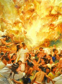 What is your favorite LDS artwork? Include a picture and artist, please! I need more artwork on my walls, but I'm not familiar with many artists besides Greg Olson, for example. Book Of Mormon Stories, Bless The Child, Lds Art, Saint Esprit, Prophetic Art, Christian Art, Religious Art, Photo Art, Ikon