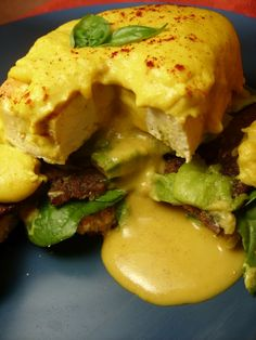 vegan eggs benedict