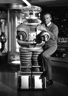 Lost in Space TV Show with Robot & Dr Smith. Best Line Ever...Danger,danger Will Robinson!