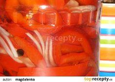 Sterilovaná paprika s olejem recept - TopRecepty.cz