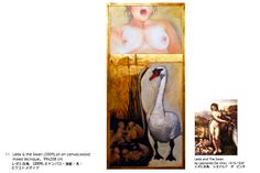 Leda and the Swan. Work In Japan, Swan, Artist, Painting, Swans, Painting Art, Paintings, Painted Canvas, Artists