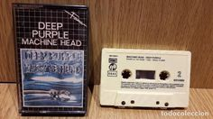 DEEP PURPLE. MACHINE HEAD. MC / EMI-FAMA - 1986 / CALIDAD LUJO.
