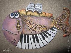Картина панно рисунок Поделка изделие Лепка Соленушки мои первенцы Гуашь Краска Тесто соленое фото 12