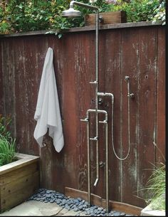 outdoor shower enclosure pipes interiors and shower enclosure