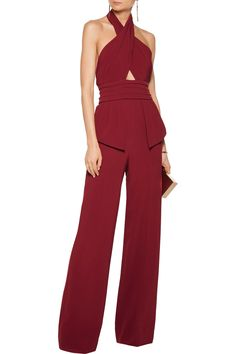 Shop on-sale Cushnie et Ochs Jacqueline cutout stretch-cady jumpsuit . Browse other discount designer Jumpsuits & more on The Most Fashionable Fashion Outlet, THE OUTNET.COM