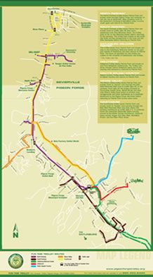 Routes Pigeon Forge Trolley