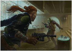 Firm Resolve - Star Wars Imperial Assault by Rilez75. #StarWars #Art #gosstudio .★ We recommend Gift Shop: http://www.zazzle.com/vintagestylestudio