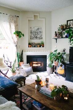 Bohemian home of Sara Toufali   photos by Sara Toufali Follow Gravity Home: Blog - Instagram - Pinterest - Facebook - Shop
