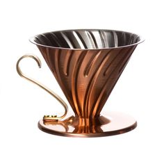 Equal parts style and substance, the new copper V60 02 is a treat to brew with and to behold.