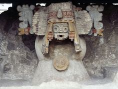 Tlaloc (Tlá-lock) was the Aztec rain god and one of the most ancient and widespread deities of all Mesoamerica. Tlaloc was thought to live on the top of the mountains, especially the ones always covered by clouds; and from there he sent down revivifying rains to the people below.
