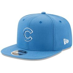 Chicago Cubs New Era League Basic Original Fit Adjustable Snapback Hat - Blue Chicago Cubs Fans, Cubs Hat, Gucci Hat, Headgear, Snapback Hats, The Originals, Fitness, Baseball Caps, Loyalty