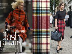 Fashion At Baruch: THE TARTAN TREND
