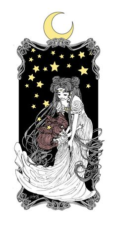 artoftrungles: The Rabbits in the Moon I'm intensely excited...