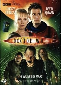Doctor Who Challenge Day 12: episode that scared me most.... is The Waters of Mars. The infected people are super scary. And the Doctor has a moment when he gets pretty scary. He needs a companion to help him know when to stop. It's a great episode. Love it. Definitely scary.