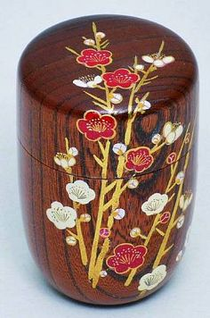 Tea caddy ( Natsume and Chaire) #192591