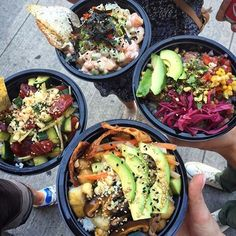 Poké Bowls: Ninja Spicy Salmon | The Big Katuna (Taster: @findkhristine) Big Tuna Poké Bar is located here: