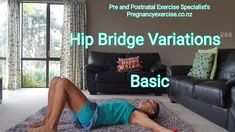 Fit Mom Exercises: Hip bridges are almost the perfect core and glute exercise that you can do both pregnant and postnatal. They can get boring though so here are several variations that you can do. Visit our website here for a FREE 14 day fit mum butt bla Exercices Diastasis Recti, Post Pregnancy Workout, Pregnancy Tips, Hip Bridge, Fit Mum, Workout Challenge, No Equipment Workout, Excercise, Glutes