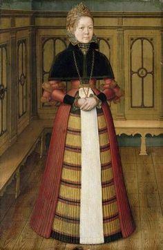 1572 Ludger tom Ring the Younger - Portrait of Mette (Mathildis) von Munchhausen