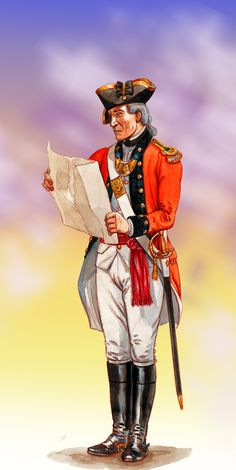 Officer, King's American Regiment