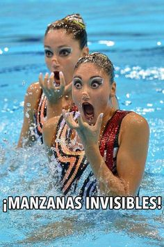 ¡Manzanas invisibles!